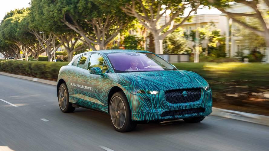 Jaguar I-PACE 2018: pruebas finales en Los Ángeles