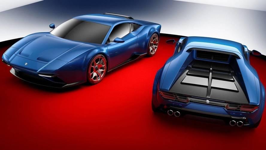 Huracan And De Tomaso Pantera Morph Into Ares Design Supercar