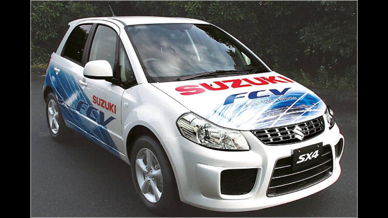 Suzuki mit Brennstoffzelle