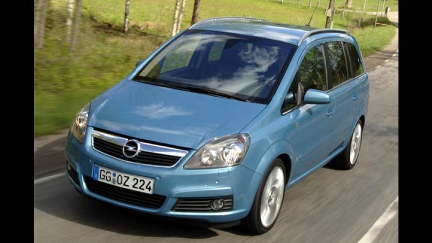 Klappe sieben, die Zweite: Der neue Opel Zafira im Test
