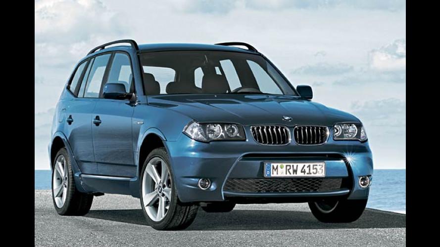BMW X3: Zubehör zur Individualisierung des Offroaders