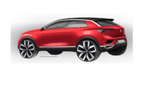 2018 VW T-Roc teasers