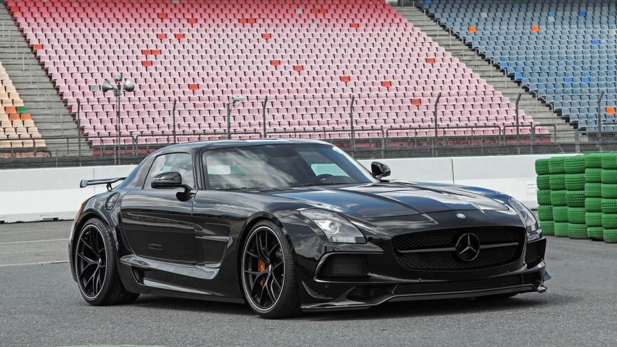 Mercedes SLS AMG Boosted And Subtly Restyled By Inden Design