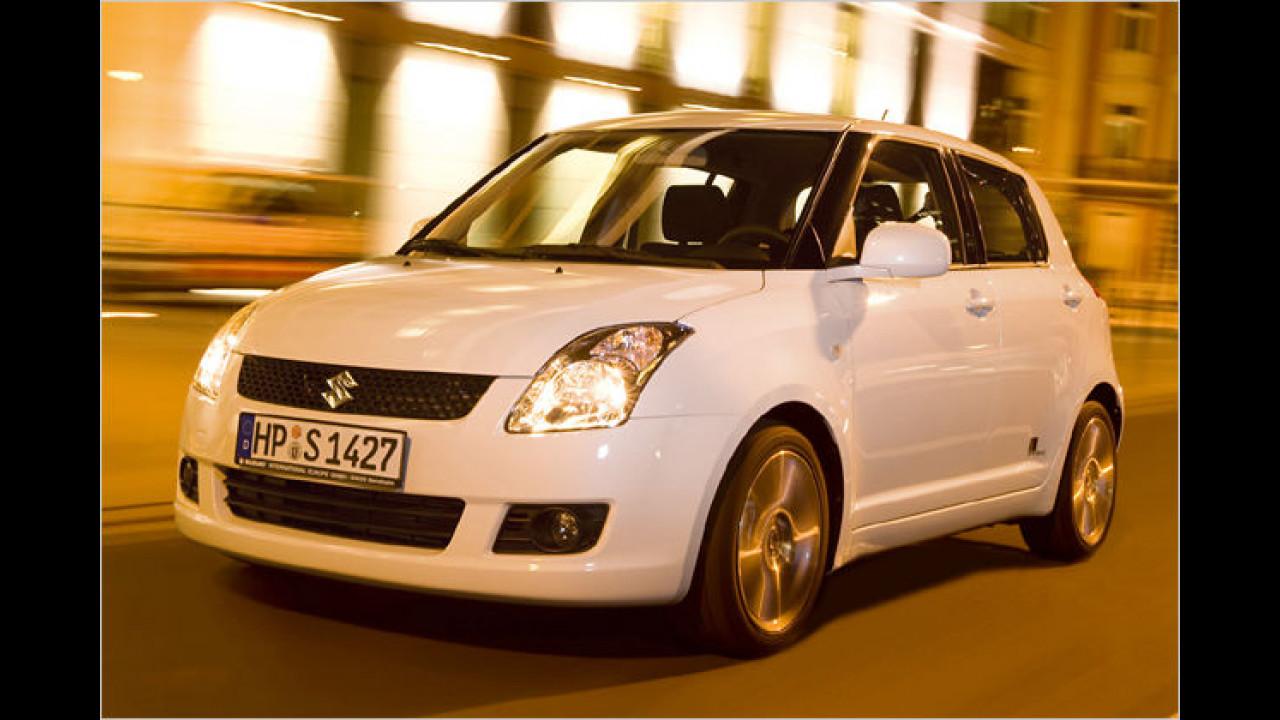 Suzuki Swift Black and White