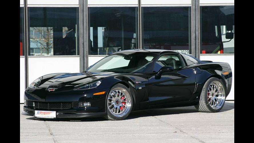 Stärkere Saiten aufgezogen: Geiger tunt die Corvette Z06