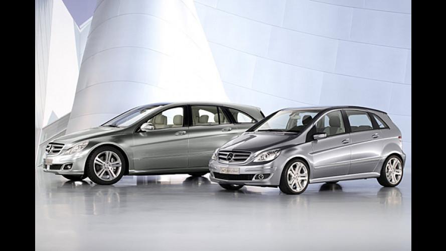 Raumstudien: Mercedes GST Vision R und CST Vision B