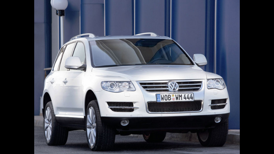 Volkswagen Touareg Blue TDI a Ginevra