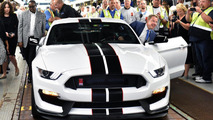 First production Ford Shelby GT350R Mustang