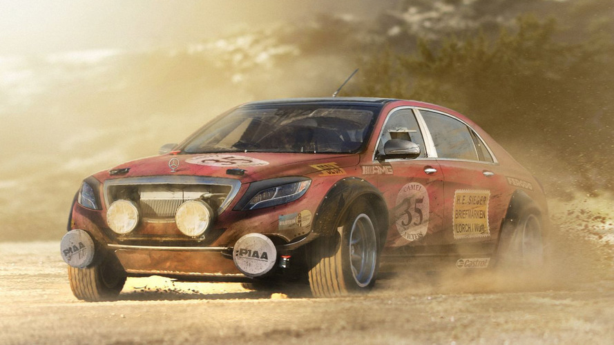 WRC cars reinvented in digital sketches