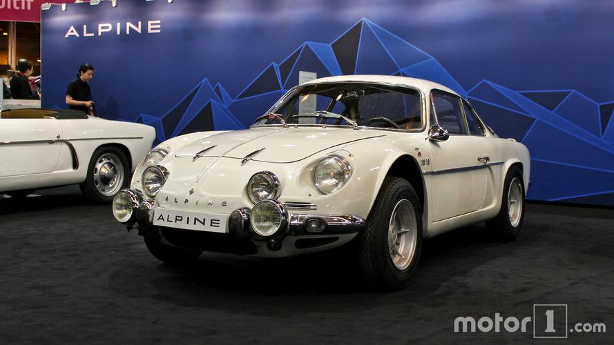 Alpine au Salon Rétromobile 2017