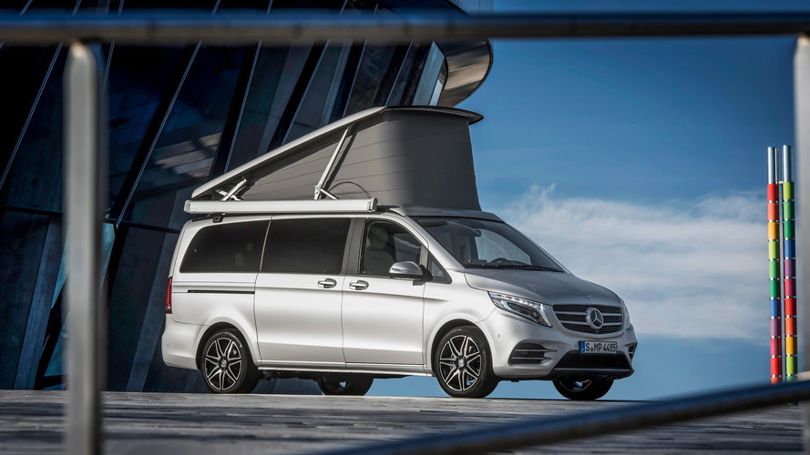 Posh Mercedes Marco Polo camper has 'yacht wood' floors