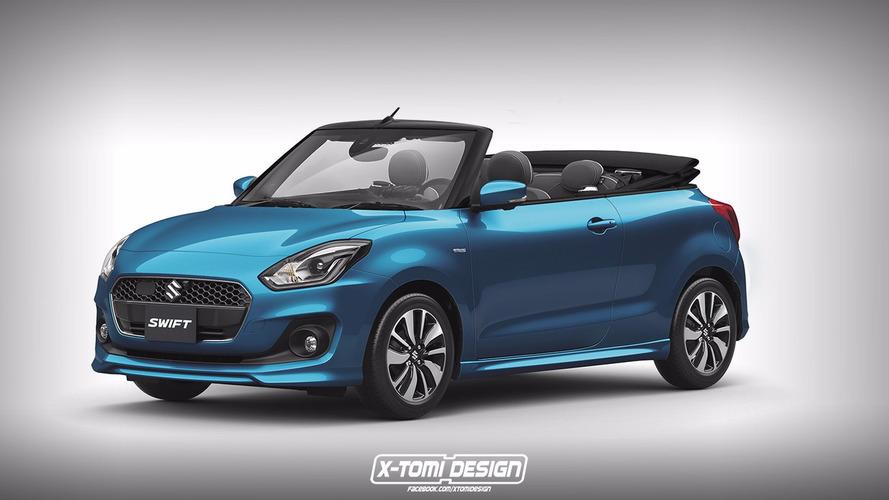 Suzuki Swift Cabrio'yu hayal edin