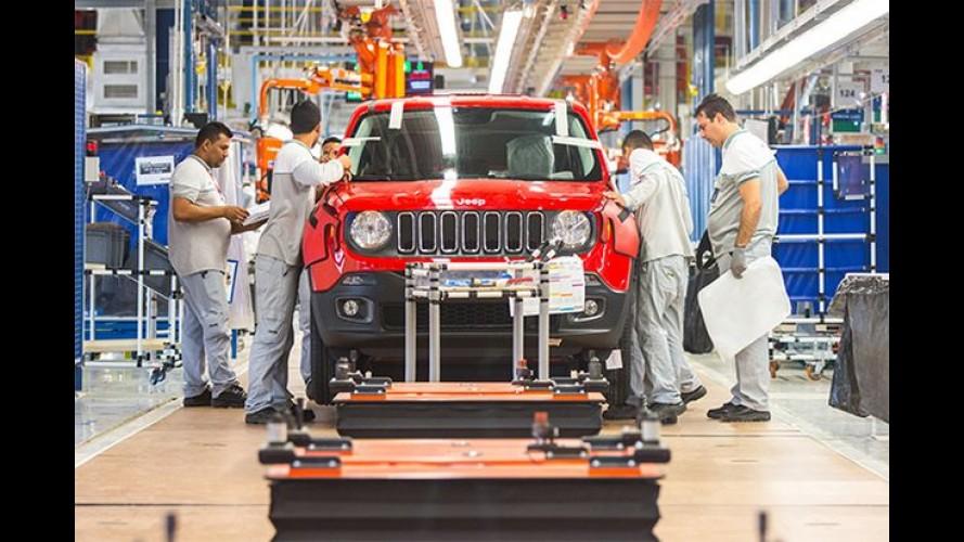 Este é o primeiro Jeep Renegade fabricado no Brasil