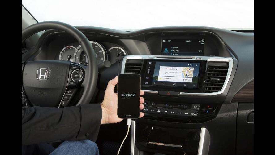 Honda Accord já é oferecido com Android Auto em português