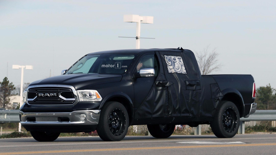 Ram 1500 Mega Cab spied with extra space for hauling the family