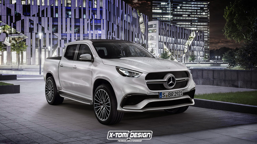 Mercedes X63 AMG rendering raises the question: who would buy this?
