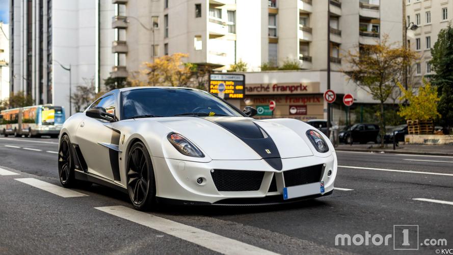 PHOTOS - L'une des 5  Ferrari 599 Stallone est à Paris... et à vendre !