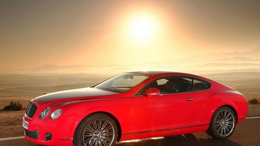 синий автомобиль Continental GT Speed бесплатно