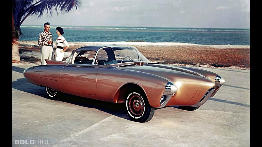 Oldsmobile Golden Rocket Dream Car Concept