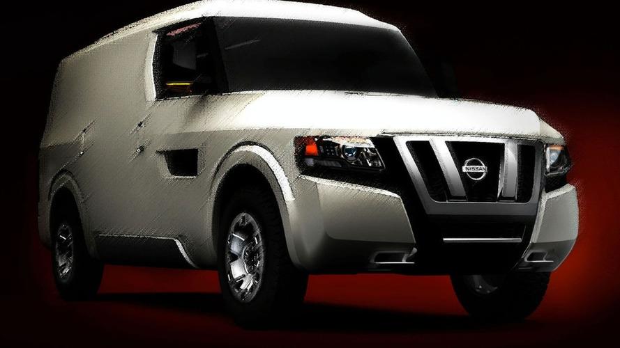 Nissan NV2500 Concept Set For Debut in Detroit