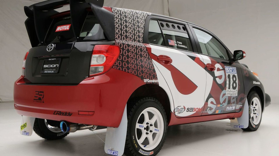 Scion xD by 0-60 Magazine and Sparco Rally for SEMA