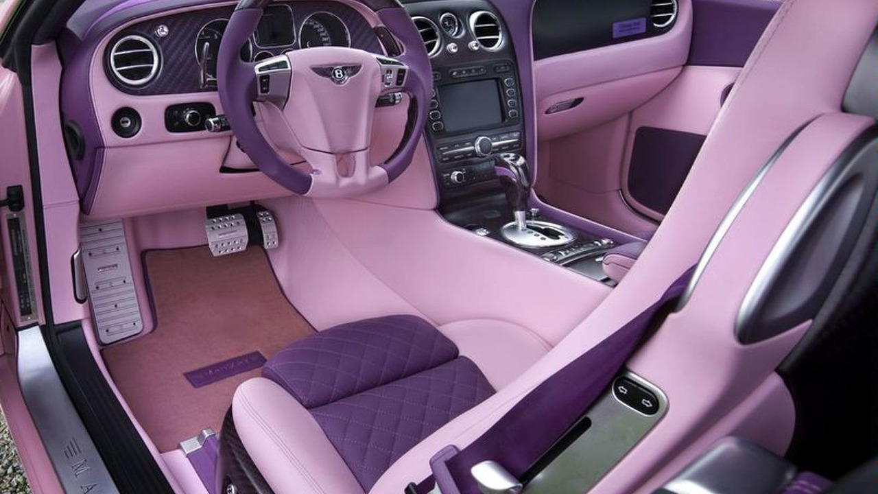 Mansory Vitesse Rose - based on Bentley Continental GT Speed