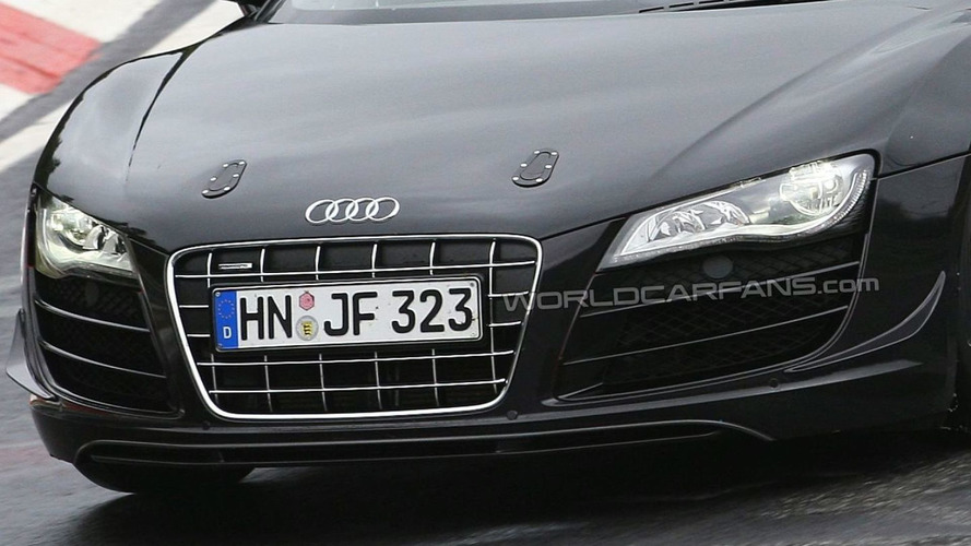 Audi R8 V10 Clubsport spied?