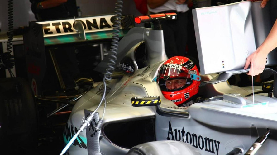 Schumacher 'comfortable' with updated Mercedes