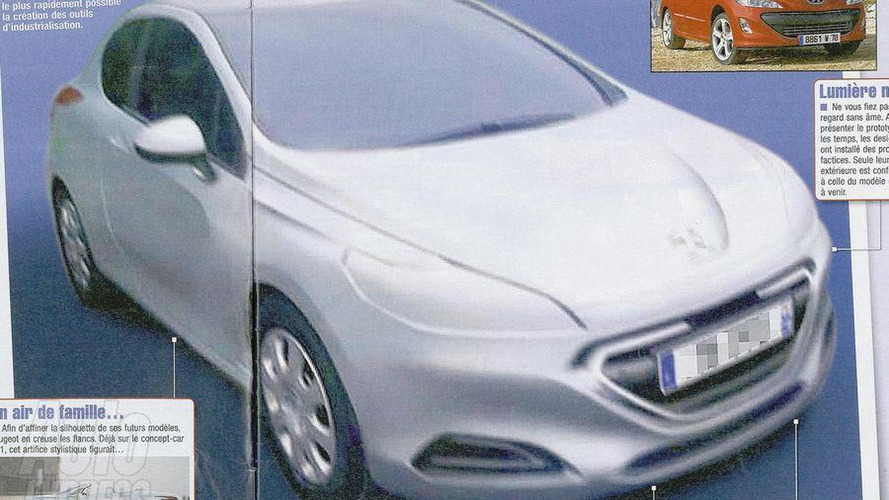 2012 Peugeot 309 design leaks