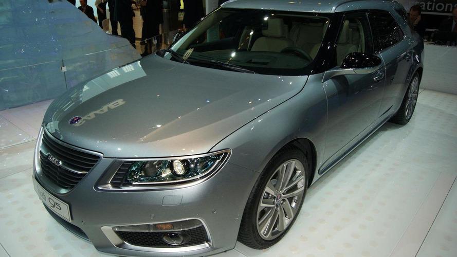 Saab 9-5 SportCombi debuts at Geneva