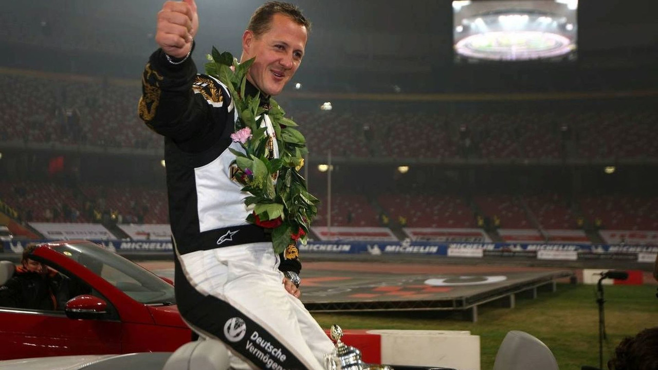 Michael Schumacher (GER), Scuderia Ferrari - Race of Champions, The Birds Nest Stadium, 04.11.2009, Beijing, China,