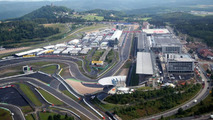 Aerial views of the Nurburgring and the new development and facilities around it, German Grand Prix, Thursday, 09.07.2009 Nürburg, Germany