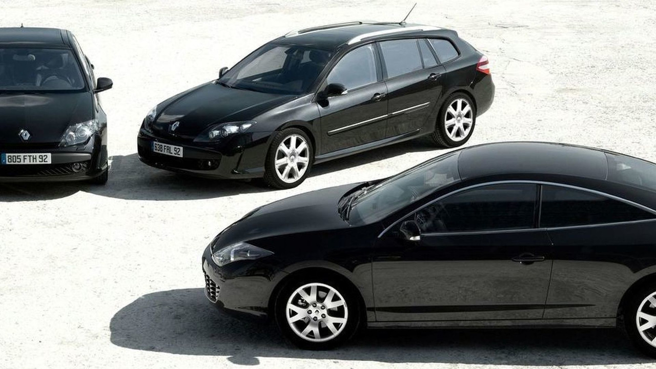 Renault Laguna Coupe, Estate and Hatch Black Editions