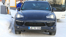 2011 Porsche Cayenne Diesel winter test spy photo - 22.02.2010