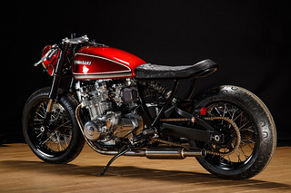 'Red Rooster' is One Seriously Hot-to-Trot Kawasaki