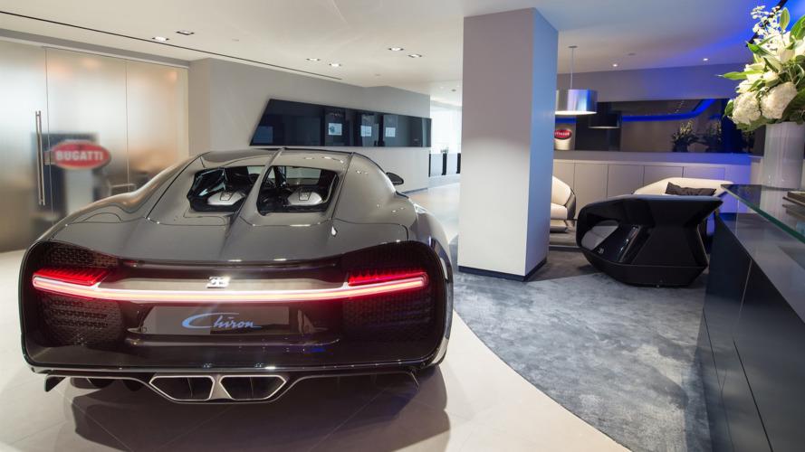 Bugatti opens spectacular U.K. showroom for Chiron