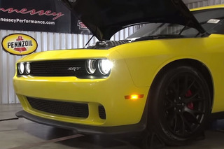 Hennessey Decided the Challenger Hellcat Needs More Noise and Power