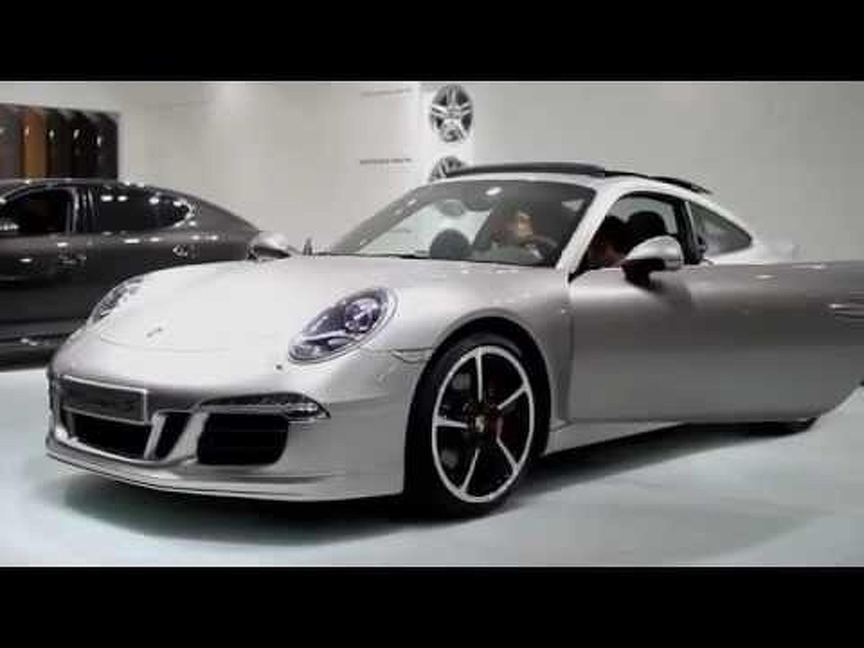 2012 Porsche 911 Carrera Interior - 2011 Frankfurt Motor Show Video
