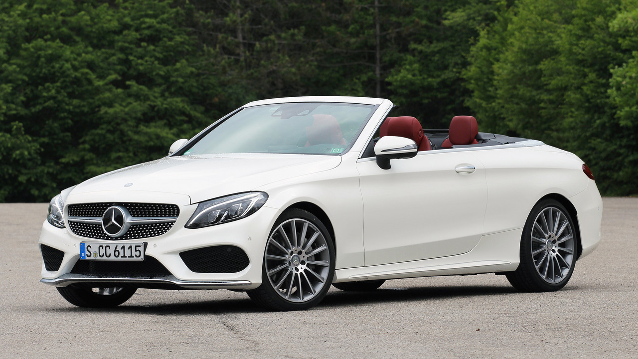 2017 MercedesBenz C300 Cabriolet First Drive Motor1com Photos