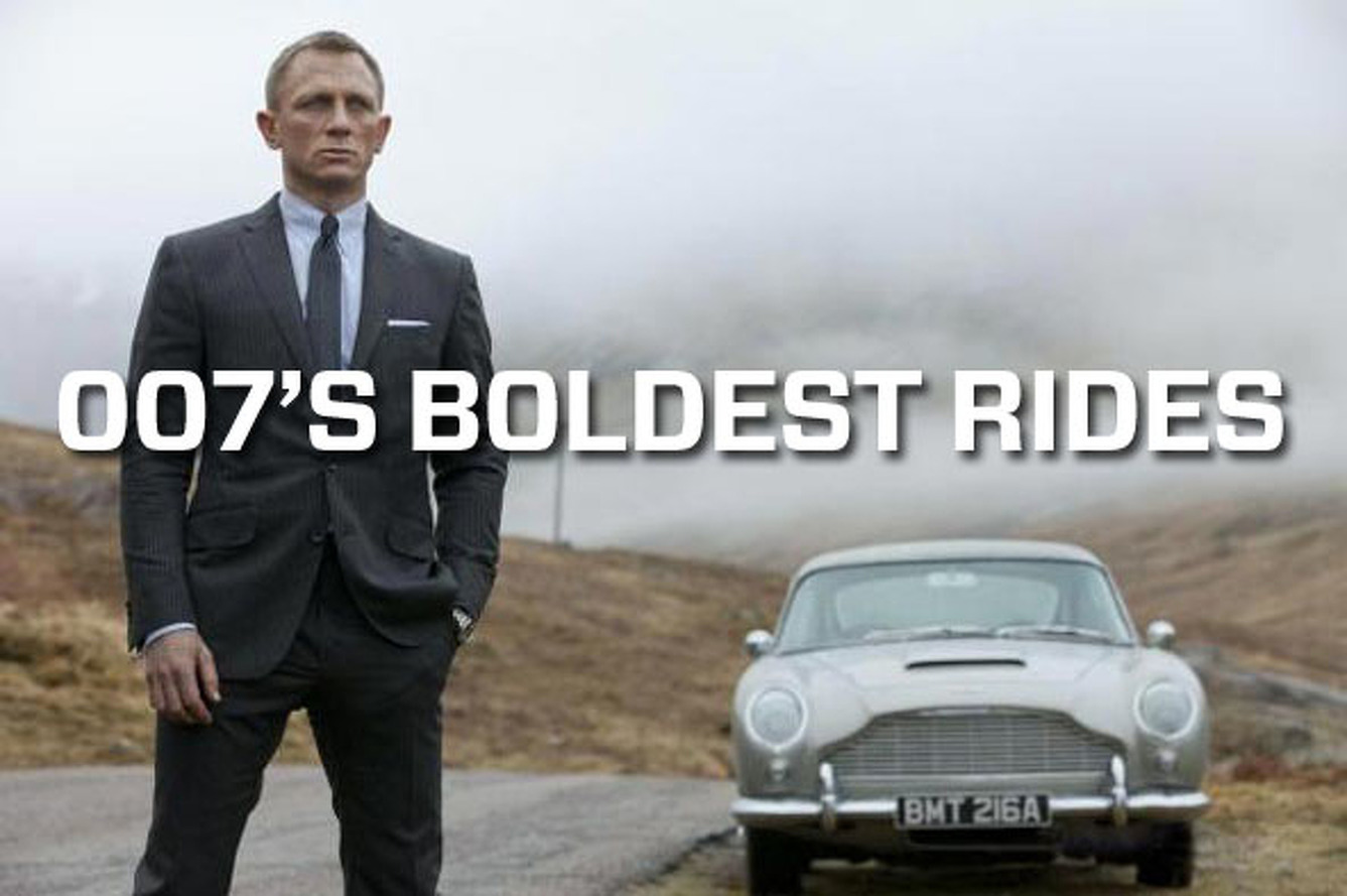 Dr. No to Skyfall: The Boldest Rides of James Bond