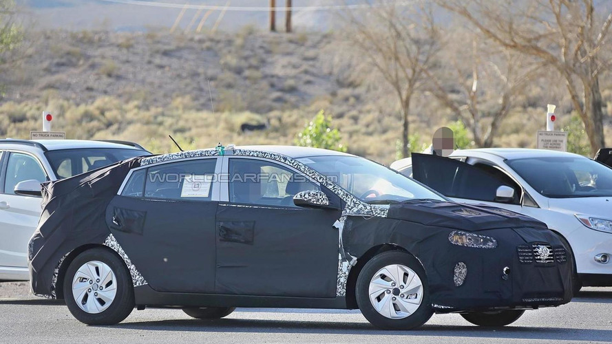 Hyundai's Prius competitor spied inside and out in United States