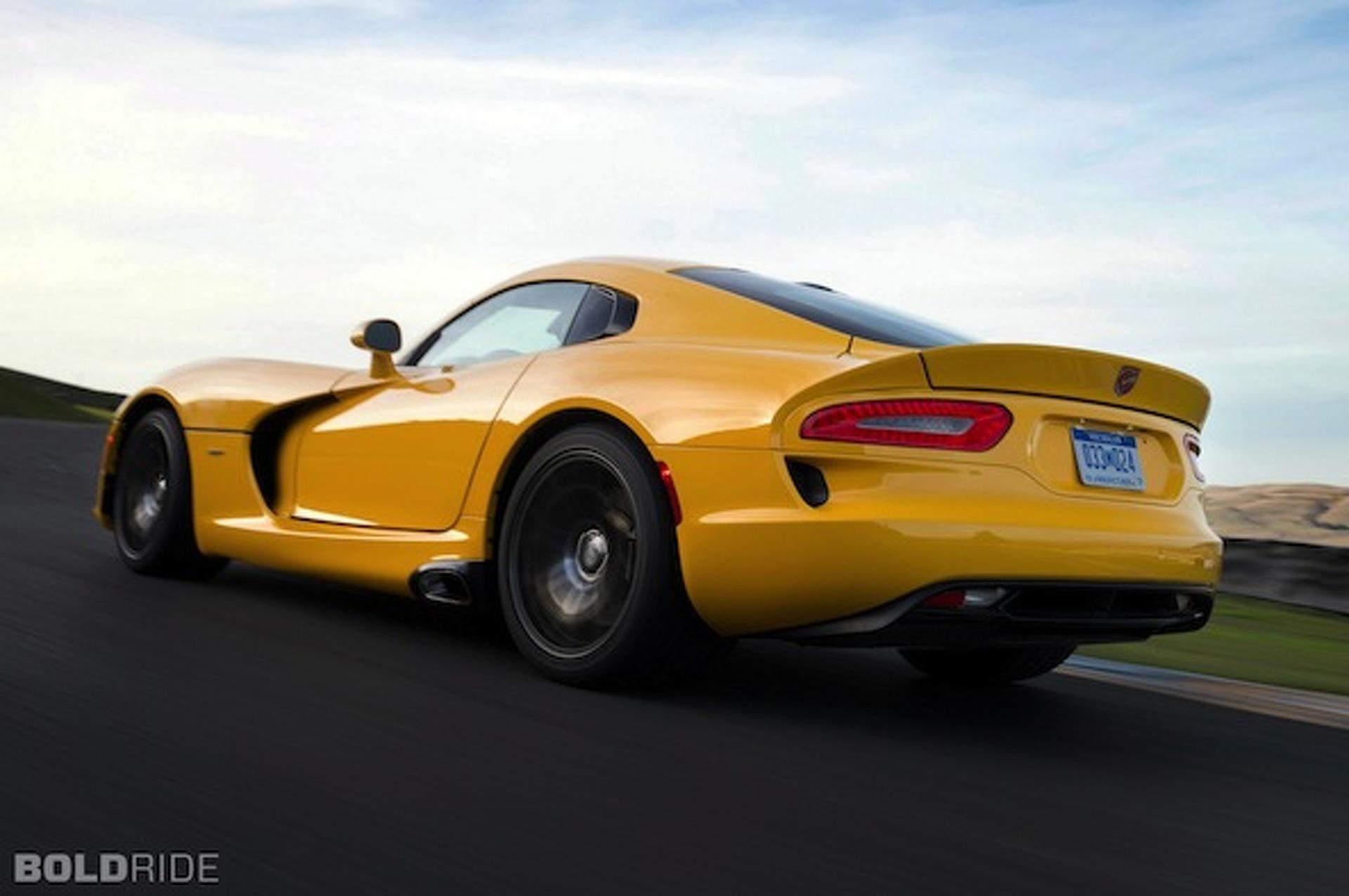 2014 SRT Viper Price Bumped to $99,395*