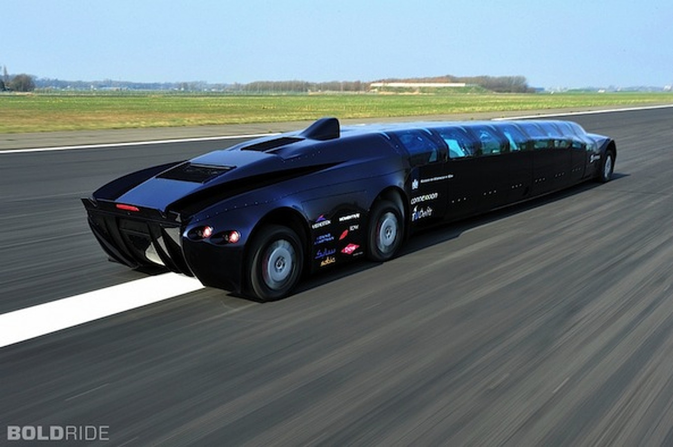 Popular This Week: From An Electric Corvette To A Supercar SuperBus
