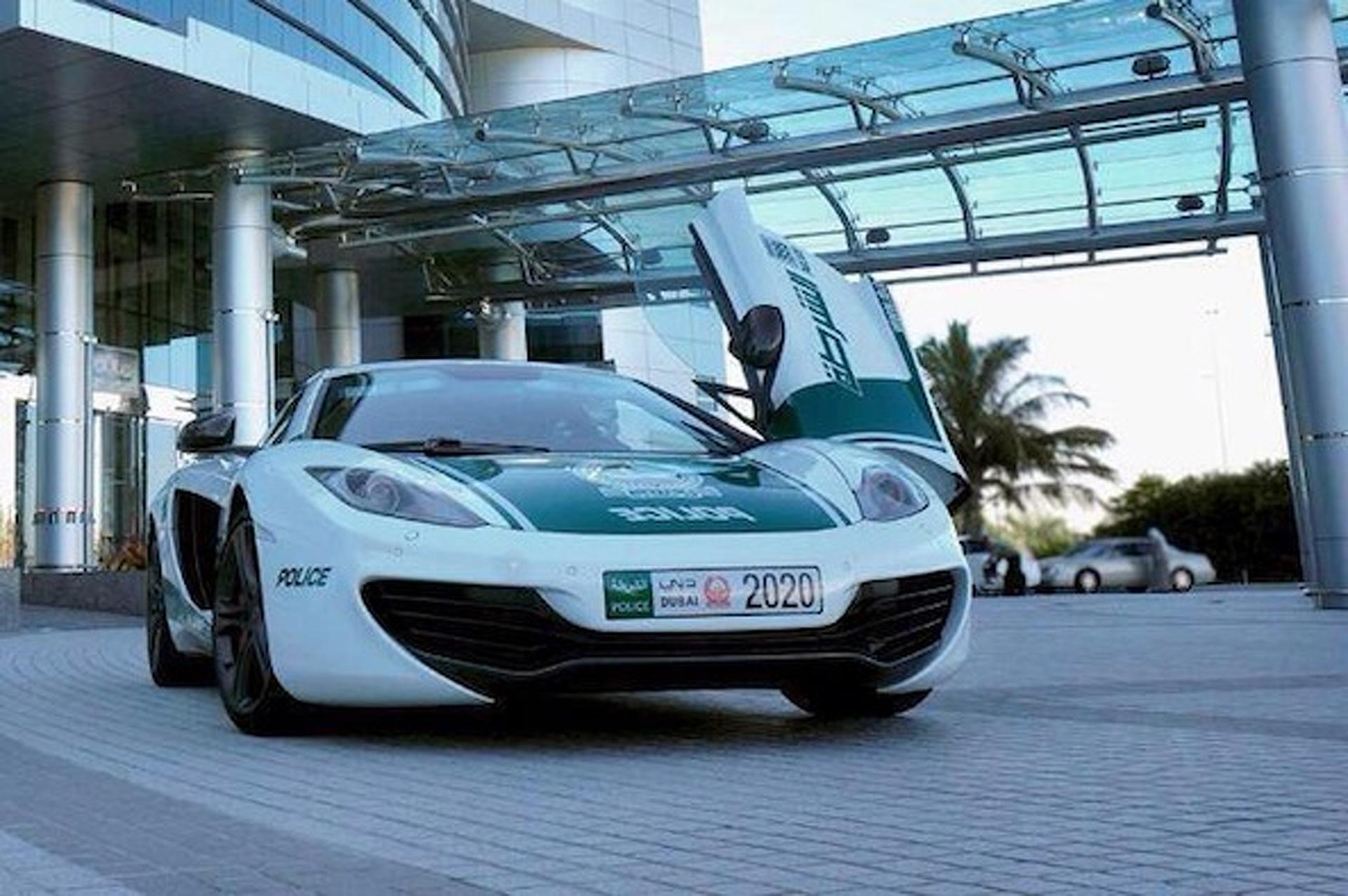 Dubai PD Adds McLaren MP4-12C to its Growing Fleet of Supecars [w/video]
