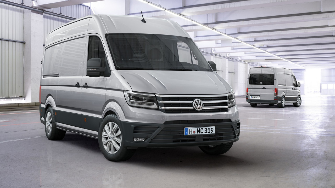 Vwvortex The Van Lounge All New Volkswagen Crafter Revealed With Fwd Rwd Awd 4 Base Models 3 Lengths Heights