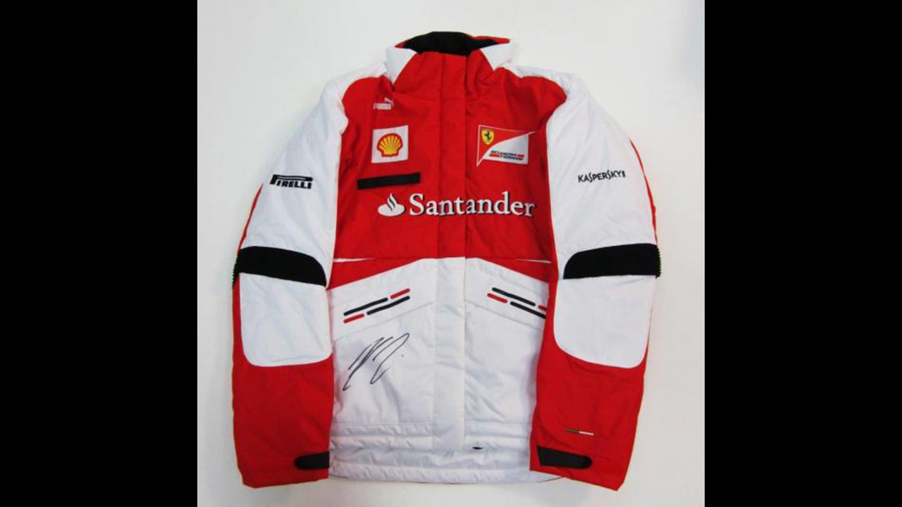 Ferrari, asta benefica su CharityStars