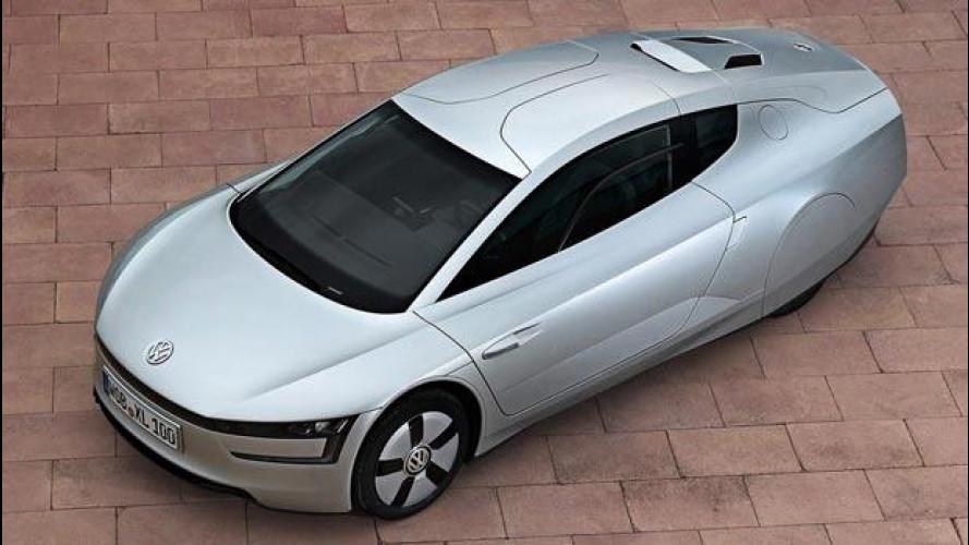 Volkswagen XL1, l'auto da 1 litro/100 km verrà prodotta in serie