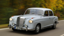 Zeitreise: Unterwegs im Mercedes 220 von 1955