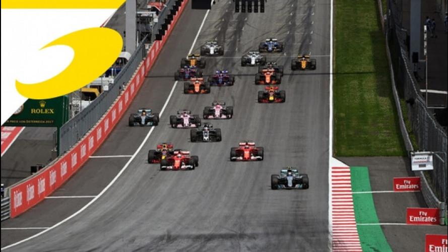 GP Austria F1, nessuna partenza anticipata per Bottas