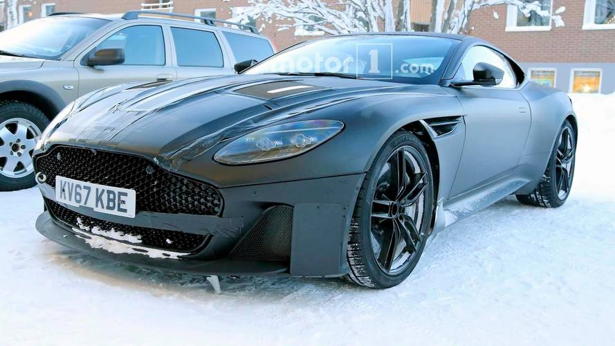 Aston Martin Vanquish Spied In Finland Looking Cool As Ice